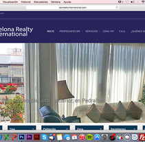 Diseño y desarrollo WEB - Barcelona Realty International. A Web Design, and Web Development project by Paco Maringo         - 30.09.2014