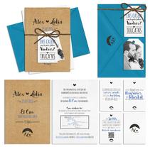 Invitación Boda Àlex <3 Lídia. A Design, and Graphic Design project by Miki Cano         - 06.09.2016