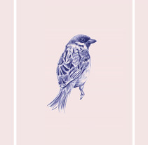 Birds I. A Illustration, and Fine Art project by Cristina Iglesias         - 07.09.2016