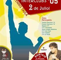 Diversos carteles para eventos sociales y deportivos. Un proyecto de Diseño gráfico de Alberto Figueroa Notó         - 07.09.2016