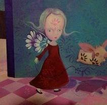 """Nuevo proyecto pintura acrílica 55 x 65cm - título """"Todo bajo control"""". Un proyecto de Bellas Artes de Mariella Kampoy         - 18.09.2016"""