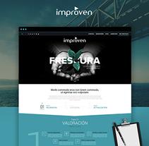 Improven Corporate website. Un proyecto de UI / UX y Diseño Web de Alfredo Merelo          - 18.09.2016