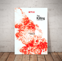 "Cartel Serie ""The Killing"". A Design, Photograph, Film, Video, TV, and Graphic Design project by Enric Serra         - 21.09.2016"