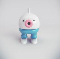 Mi Proyecto del curso: Diseño de personajes en Cinema 4D: del boceto a la impresión 3D. Un proyecto de 3D de Cocavet  - 26-09-2016