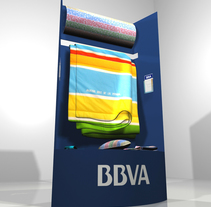 Elementos BBVA. A Design, 3D, and Furniture Design project by Pawel Rutkiewicz - 28-09-2016