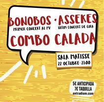 Sala Matisse - Bonobos, Assekes, Combo Calada. A Design project by Miquel Andrés Sànchez         - 05.10.2016
