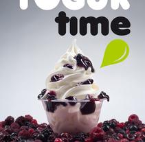 Yogur Time. Un proyecto de Diseño, Fotografía y Dirección de arte de Pitu López - 05-10-2016