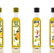 Salsa Sol®. A Design, Graphic Design, Marketing, and Packaging project by Marti Guardiola         - 18.06.2016