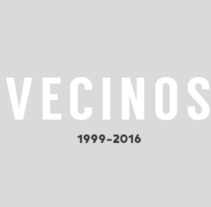 Vecinos. A Design, Illustration, and Editorial Design project by rafa san emeterio         - 06.10.2016