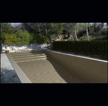 3D Montage fotografíaco/presupuestos de piscinas. Un proyecto de 3D de David Devis Saura         - 15.10.2016
