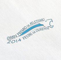 Gran Premio de Atletismo Festas de Ourense. Un proyecto de Br, ing e Identidad y Diseño gráfico de bizarrografico         - 16.10.2016