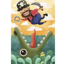 Ilustración infantil 003. Un proyecto de Diseño, Ilustración, Diseño de personajes y Diseño gráfico de Jota Man         - 16.10.2016