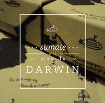 DARWIN, Set de librería. A Illustration, Graphic Design, and Packaging project by Rocío Giunta         - 19.12.2014