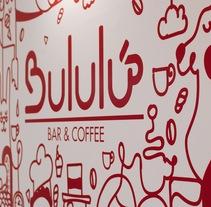 Bululú Bar and Coffee. Un proyecto de Dirección de arte, Br, ing e Identidad y Diseño gráfico de Jazmín Da Silva         - 23.10.2016
