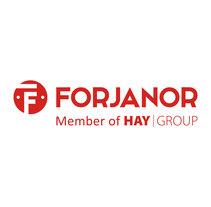 Actualización de logo para Forjanor. Um projeto de Br e ing e Identidade de María González Sánchez         - 10.11.2015