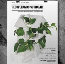 Recuperando su hogar. Um projeto de Design de Belén Larrubia - 24-10-2016