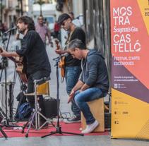 Mostra Seagram's d'Arts Escèniques de Castelló. Un proyecto de Eventos y Diseño gráfico de Joan Rojeski         - 09.10.2016