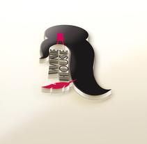 WINEHOUSE (WINE&BOOKS). Um projeto de Design gráfico de Jose Daniel Murillo Alfaro         - 27.05.2015
