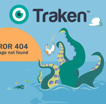 Traken error page. A Illustration project by Herbie Cans - Sep 30 2016 12:00 AM