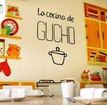 La Cocina de Gucho. A Br, ing, Identit, Cooking&Interior Design project by Ana G. Marina         - 06.11.2016