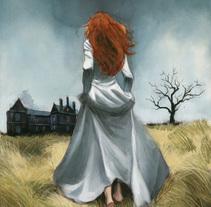 Cumbres Borrascosas - Emily Brontë. Un proyecto de Ilustración de Fernando Vicente - 07-11-2016