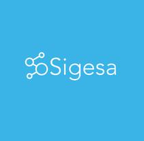 Sigesa's new identity brand. A Br, ing&Identit project by María González - 09-11-2016
