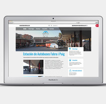 Web site: Fabra i Puig. Un proyecto de Diseño Web de Bonaria Staffetta         - 04.01.2016