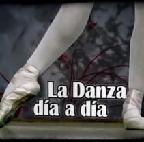 La Danza Día a Día :: Video Expo. Um projeto de Motion Graphics, Cinema, Vídeo e TV e Pós-produção de Javi de Lara         - 10.09.2007