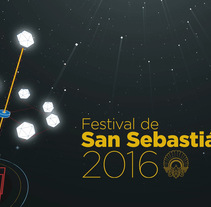 Festival de Cine de San Sebastián. A Motion Graphics project by Oscar Arias         - 10.11.2016