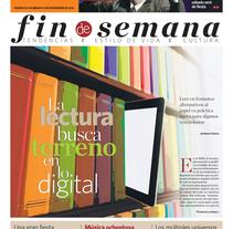 Sumplemento N°16 Fin de Semana 11-11-2016. A Design, Editorial Design, Graphic Design, Information Architecture&Information Design project by Marlon Brito         - 10.11.2016