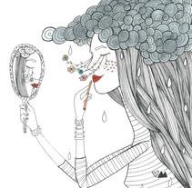 Libro para colorear. A Illustration project by Verónica Maraver         - 12.11.2016