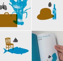Premio Josep Pla. Un proyecto de Ilustración, Br, ing e Identidad y Diseño gráfico de Enric Jardí - Sábado, 19 de noviembre de 2016 00:00:00 +0100