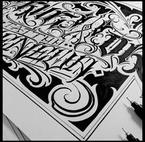 Diseño realizado para True World Tattoo Geneva. Con @eksen_one. A Design, Graphic Design, and Calligraph project by sergio ardura vazquez - 21-11-2016