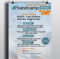 Bandcamp. Um projeto de Design editorial e Arquitetura da informação de Diana Drago         - 21.11.2016
