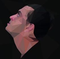 Triangle portrait. A Illustration project by Abraham Faraldo         - 23.11.2016