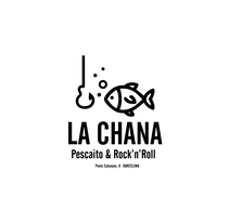 Logotipo LA CHANA (Poeta Cabanyes, 8 - Barcelona). A Illustration, and Graphic Design project by Cristóbal Jiménez Trujillo - 01-12-2016