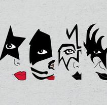 Kiss -  Ilustración. Un proyecto de Ilustración de Irene Fernández Arcas         - 01.12.2013