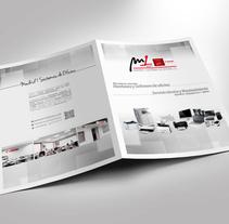 Dossier de empresa. A Editorial Design, and Graphic Design project by José Antonio Álvarez Pacios - 01-12-2016