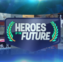 Heroes Of the Future · OlympicChannel.com. Um projeto de Motion Graphics e   Cinema, Vídeo e TV de Pep T. Cerdá Ferrández         - 05.12.2016