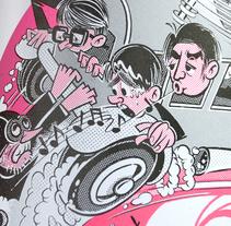 Oro Negro: 25 años sin Tino Casal. Un proyecto de Ilustración y Diseño de personajes de Ink Bad Company - 08-12-2016