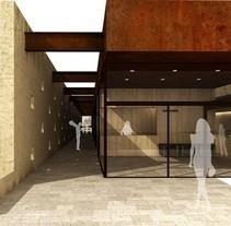 Renders para el proyecto de la sede en Granada del IAPH. A Design, 3D, Architecture, Graphic Design, Information Architecture&Interior Architecture project by DIKA estudio  - 31-01-2014