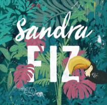 Tarjetas Visita. Um projeto de Design e Ilustração de Sandra Fiz - 22-12-2016