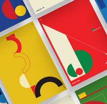 City Poster Series. Un proyecto de Diseño, Ilustración, Dirección de arte, Diseño editorial, Diseño gráfico y Tipografía de Vasty  - 27-12-2016