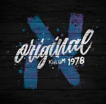 Khlum - Original 1978. Un proyecto de Br e ing e Identidad de Máximo Alcántara - 10-09-2016