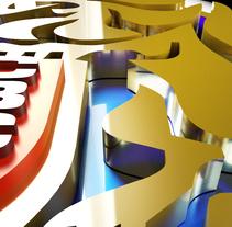 LOGO LEONES DEL CARACAS . Um projeto de 3D de ENMANUEL RONDON         - 02.01.2017