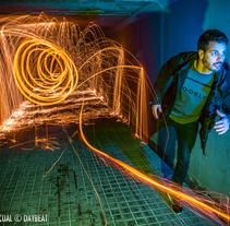 LIGHT PAINTING . Un proyecto de Publicidad y Fotografía de David Pascual (DaYBeaT)         - 03.01.2017