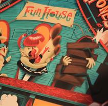 Gig Posters. Un proyecto de Ilustración y Diseño gráfico de Rafa García de la Mata - Lunes, 28 de noviembre de 2016 00:00:00 +0100