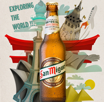 Mi Proyecto del curso: Ilustración exprés con Illustrator y Photoshop. . A Design&Illustration project by Alfonso J. Callejas  - 07-01-2017
