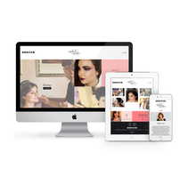 Isabel Curotto Makeup Studio: branding y website. A Design, Art Direction, Br, ing, Identit, Graphic Design, and Web Design project by disparoestudio - Jan 09 2017 12:00 AM