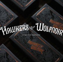 Hawkers & Wolfnoir Ltd. Edition. A Illustration, Graphic Design, and Packaging project by David Sanden         - 10.01.2017